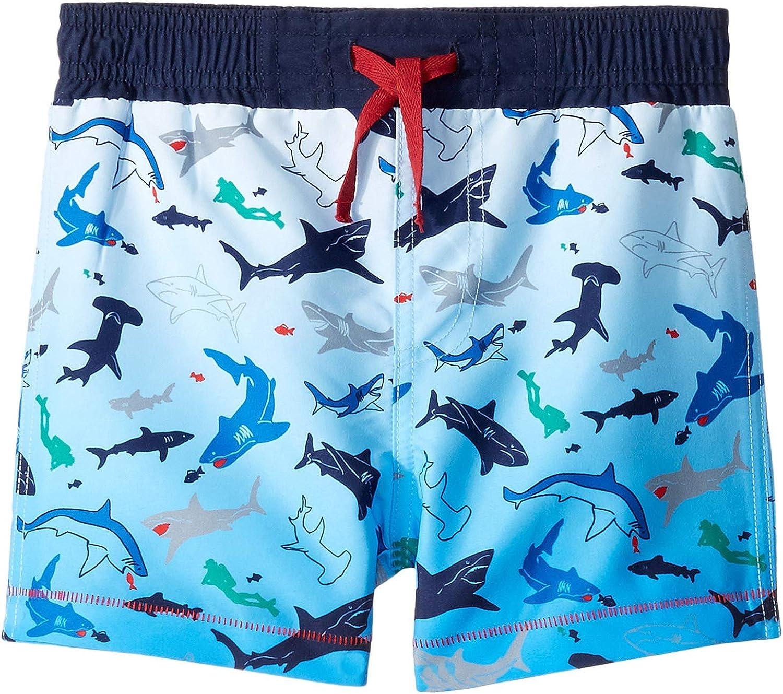 Mud Pie Boys' Shark Swim Trunks