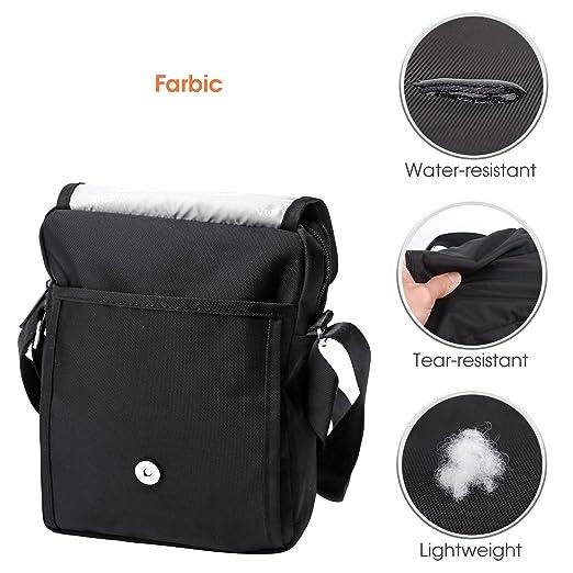 Amazon.com  Victoriatourist V3002 Shoulder Bag Vertical Messenger Bag, Black   Sports   Outdoors a51f4d9e81