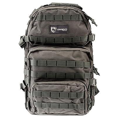 Drago Gear Assault Backpack, Grey