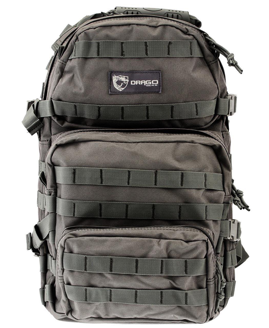 Drago Gear Assault Back Pack, Grey A.C. Kerman - LE DRG14-302GY
