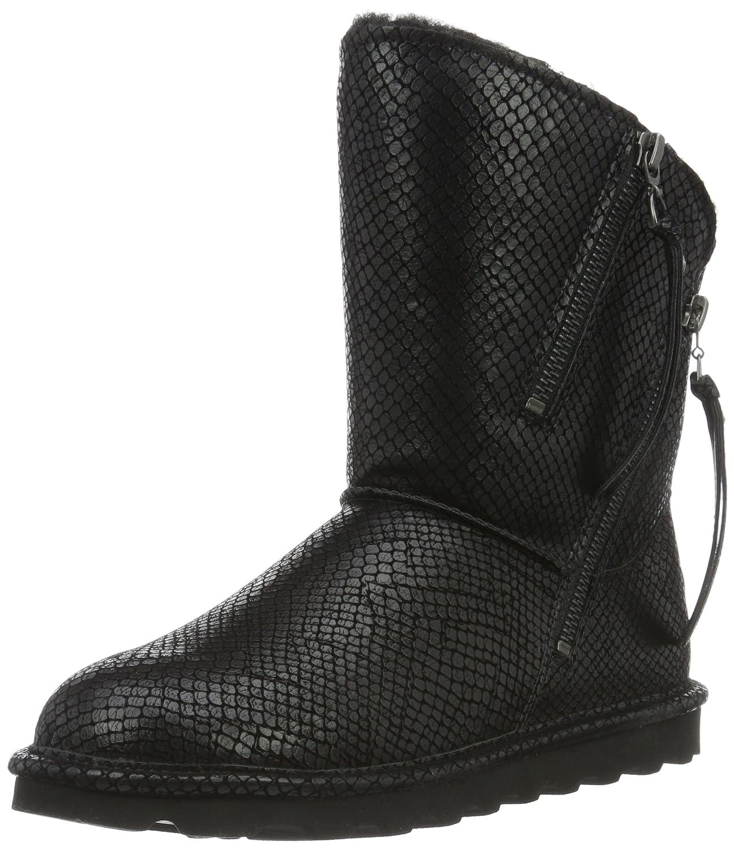 BEARPAW Women's Mimi Fashion Boot B01ENJB7AK 9 B(M) US|Black Snake