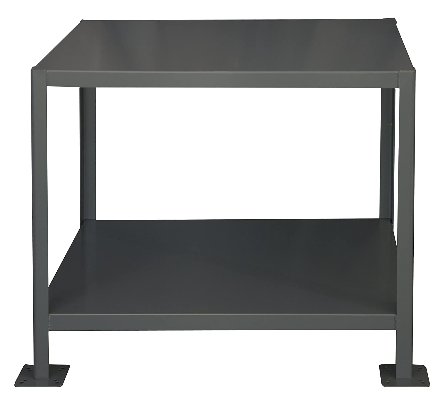 Durham steel heavy duty machine table mt304836 3k295 2 shelves durham steel heavy duty machine table mt304836 3k295 2 shelves 3000 lbs capacity 48 length x 30 width x 36 height science lab benches amazon geotapseo Images