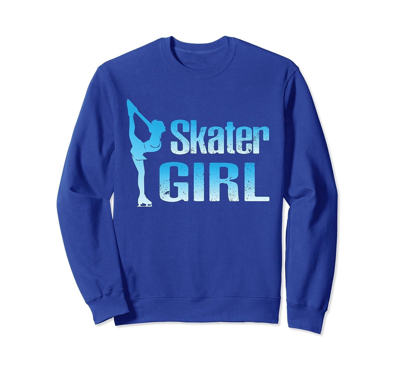 Cute Ice Skater Sweatshirt Figure Skating Girl Gift-Awarplus