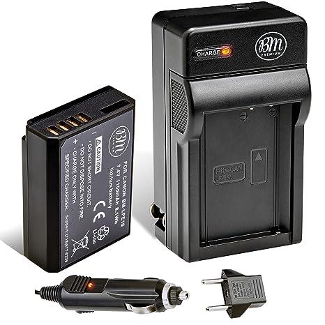 Amazon.com: Bm Premium LP-E10 batería y cargador Kit para ...