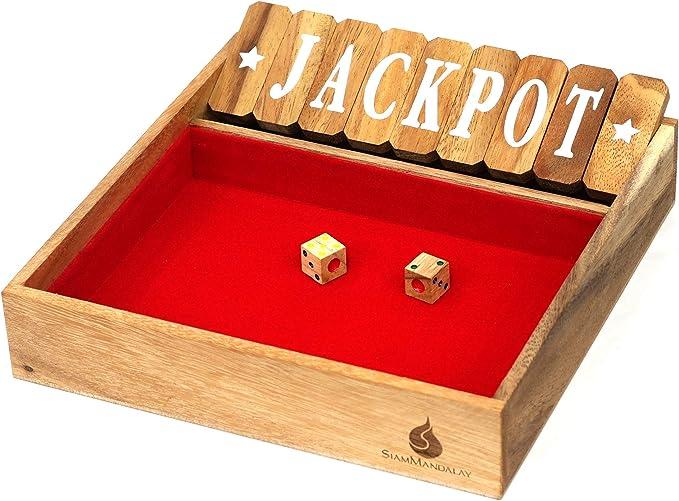 Shut the Box: Cierra la caja de madera con 9 Números Desconocido ...