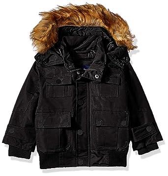8ede4c8be Amazon.com  Rocawear Boys  Hooded Bomber Parka Jacket  Clothing
