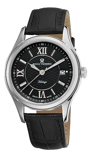 Revue Thommen Airspeed Xlarge 16061.3536 Reloj para hombre con cuerda manual y tapa de vidrio: Amazon.es: Relojes