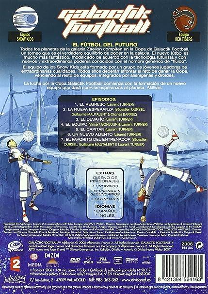 Amazon.com: Galactik Football - Season One - 4-DVD Box Set (Galactik Football - Entire Season 1)  [ NON-USA FORMAT, PAL, Reg.0 Import - Spain ]: Patrick ...