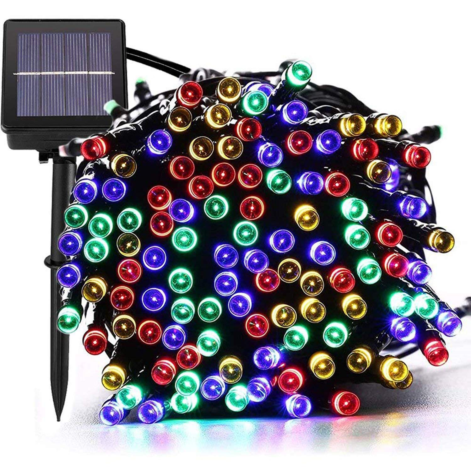 jar-owl Solar String Lights Outdoor 72ft 200 LED Solar Powered Outdoor Lights Waterproof Fairy String Lights for Indoor, Patio, Christmas, Gardens, Homes, Wedding, Holiday, Party Decor (Multi-Color)