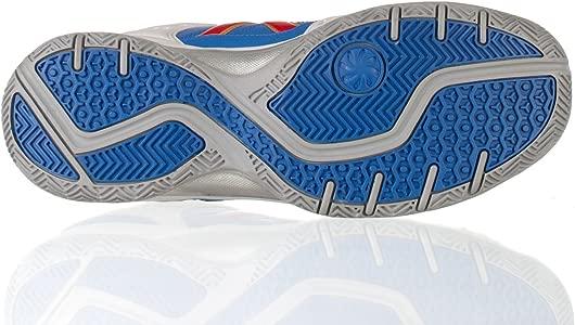 Kelme Zapatillas Casual Amazon Padel Blanco/Royal 39: Amazon.es ...