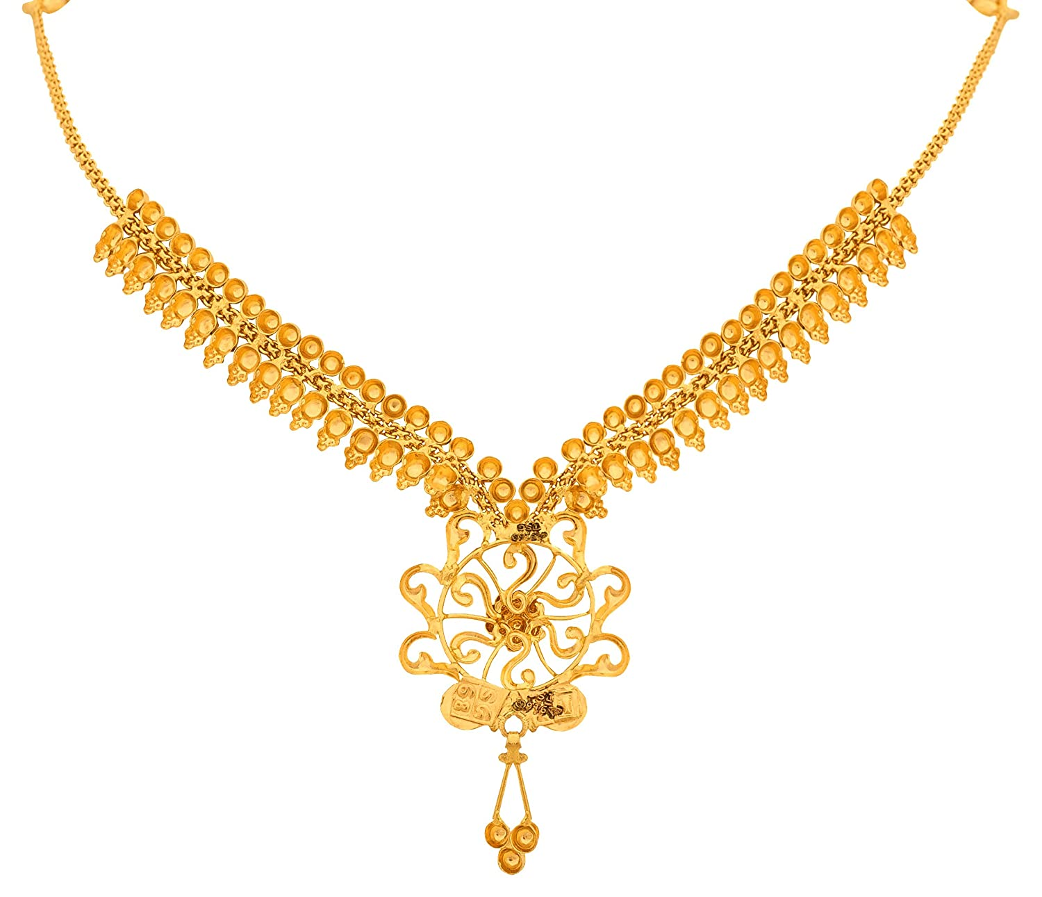 Luxury Gold Necklace Online India   Jewellry\'s Website