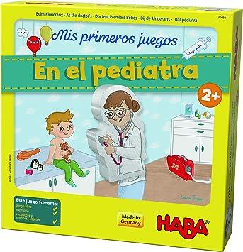 Haba mesa, Mis Primeros Juegos. En el Pediatra, multicolor (Habermass H304651) , color/modelo surtido: Amazon.es: Juguetes y juegos