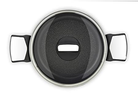 Tefal Expertise Cacerola 20 cm y 2,9 L de Capacidad, con Tapa, Recubrimiento Antiadherente de Extra Titanio, Aptas Todo Tipo de Cocinas, Base Óptima para ...
