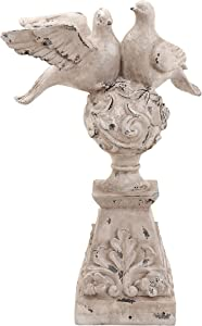 Plutus Brands Garden Dove with Artistic Design