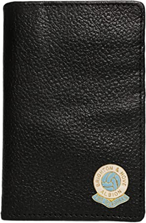 Brighton and Hove Albion Football Club Leather Credit Card Wallet