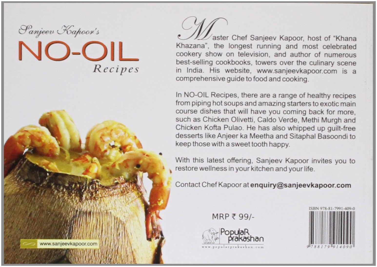 Sanjeev kapoors no oil recipes sanjeev kapoor 9788179914090 sanjeev kapoors no oil recipes sanjeev kapoor 9788179914090 amazon books forumfinder Gallery
