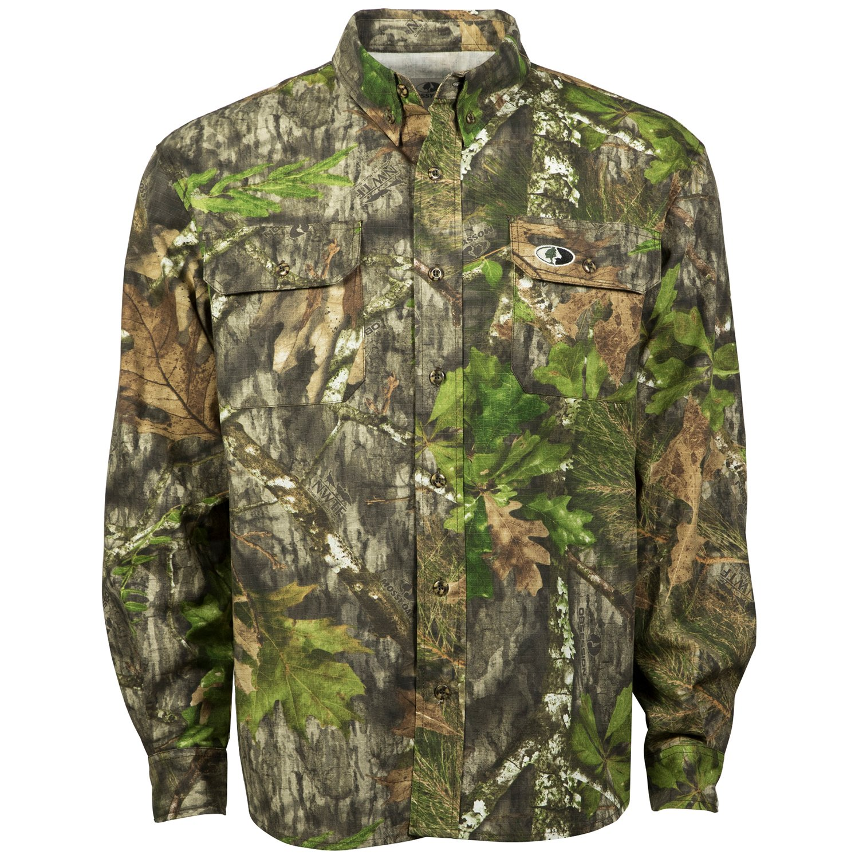 Mossy Oak Men's Tibbee Hunt Shirt by Mossy Oak