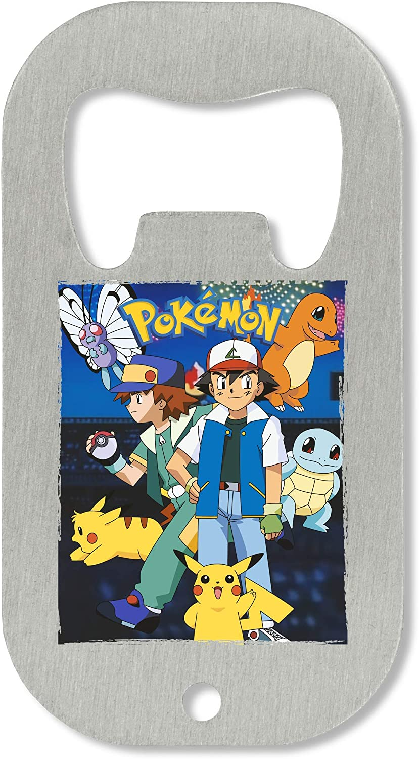 Pokemon Super Team Ash Pikachu Abrebotellas
