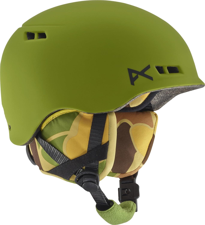Anon(アノン) ヘルメット スキー スノーボード ジュニア ボーイズ キッズ BURNER 133281 Boa360° 軽量 インモールド構造 B06ZZRKTQM Kamo Green L\XL