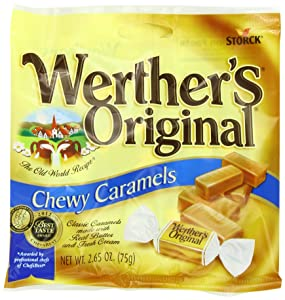 Werther's Original Chewy Caramels, 2.65-Ounce (Pack of 12)
