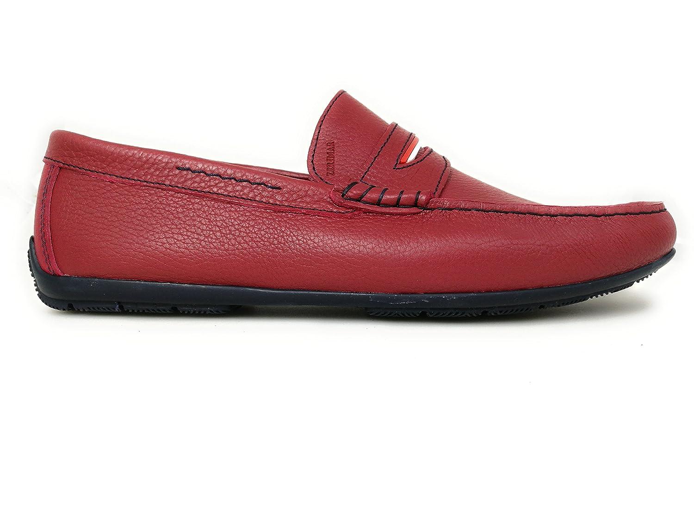 Chaussures Zerimar rouges Casual homme  35.5 AdeeSu Sxc02325 8IIlGH5H
