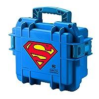 Superman 3 Slot Blue Impact Dive/Collector Case