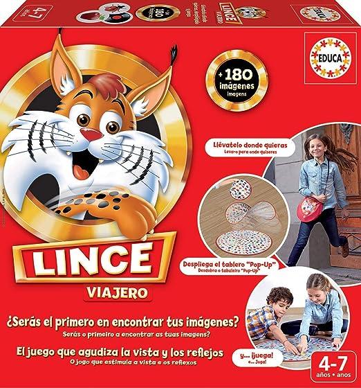 Educa Borrás Lince Viajero, 180 imágenes (16392): Amazon.es ...