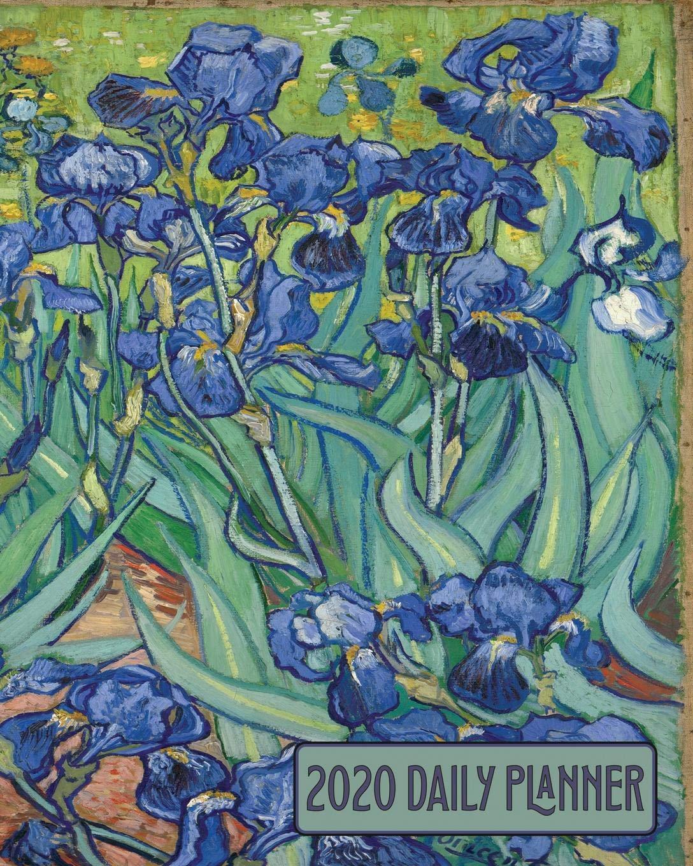2020 Daily Planner: Beautiful Van Gogh Irises Art Cover Full ...
