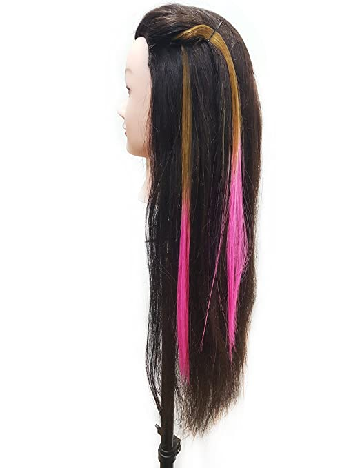 Buy Prime 10 Pcs Coloured Hair Extensions For Hair Highlighting For