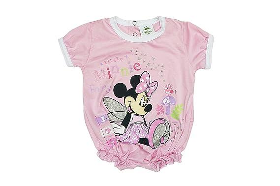 Disney Minnie Baby Mädchen Spieler Body rosa