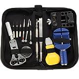 BABAN Kit professionnel d'horlogerie 13 pièces et son sac en nylon