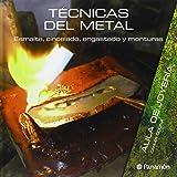 Técnicas Del Metal. Esmalte, Cincelado, Engastado Y Monturas (Aula de joyería)