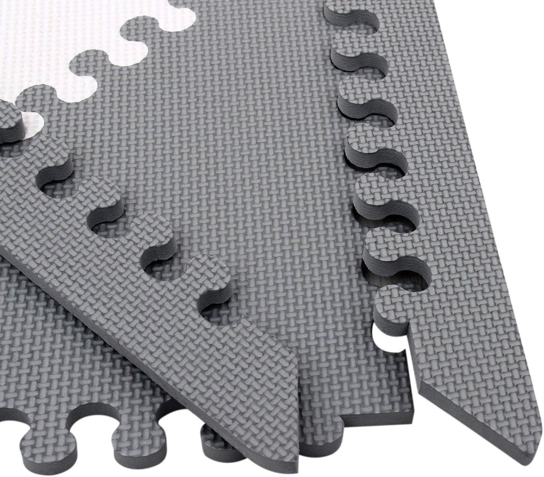 qqpp Puzzlematte ✔16 TLG Mit Felgenzubeh/ör.Kinderspielteppich Spielmatte Spielteppich Schaumstoffmatte Matte ✔ K/älteschutz ✔abwaschbar ✔bunt ✔phantasief/ördernd QQCDW101104ZZ301016