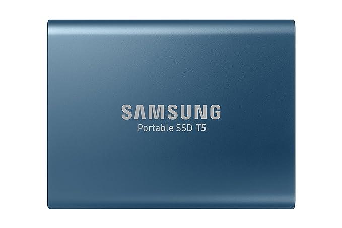 Samsung T5 Portable SSD - 500GB - USB 3.1 External SSD (MU-PA500B/AM)