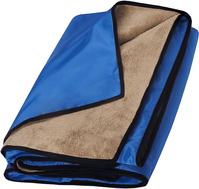 playa ECOSWAY Manta de espuma de aluminio para exteriores ultraligera a prueba de humedad senderismo para picnic viajes camping para dormir impermeable
