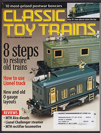 CLASSIC TOY TRAINS Lionel Challenger O Gauge MTH Alco Atlas