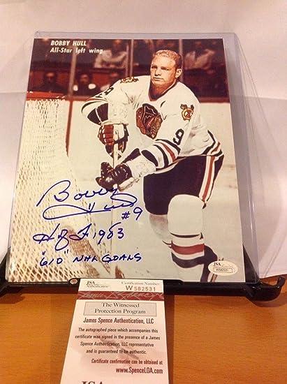 Sports Mem, Cards & Fan Shop Bobby Hull Signed Onl Baseball jsa Hockey-other