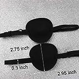 FASOTY 6 Pack Single Eye Patch Soft Adjustable