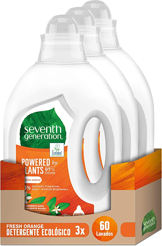 Seventh Generation Fresh Orange & Blossom - Detergente para Ropa ...