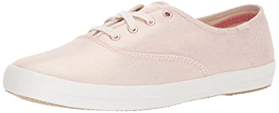 bae74501421af Keds Champion Metallic Linen Women 9 Rose Gold