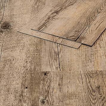 Vinylboden Klebevinyl Flusseiche 910 Grau Holzoptik 25mm Vinyl