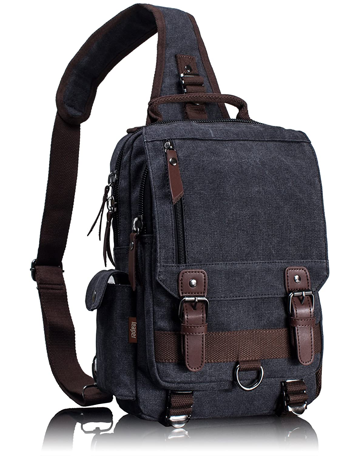 0dc22f967730 on sale Leaper Cross Body Messenger Bag Shoulder Backpack Travel ...