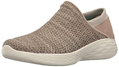 Skechers Damen You Slip on Sneaker, Beige (Taupe), 35.5 EU