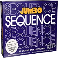 YAMAMA Jumbo Sequence PVC Family Card Board Game (32x27-Inch)