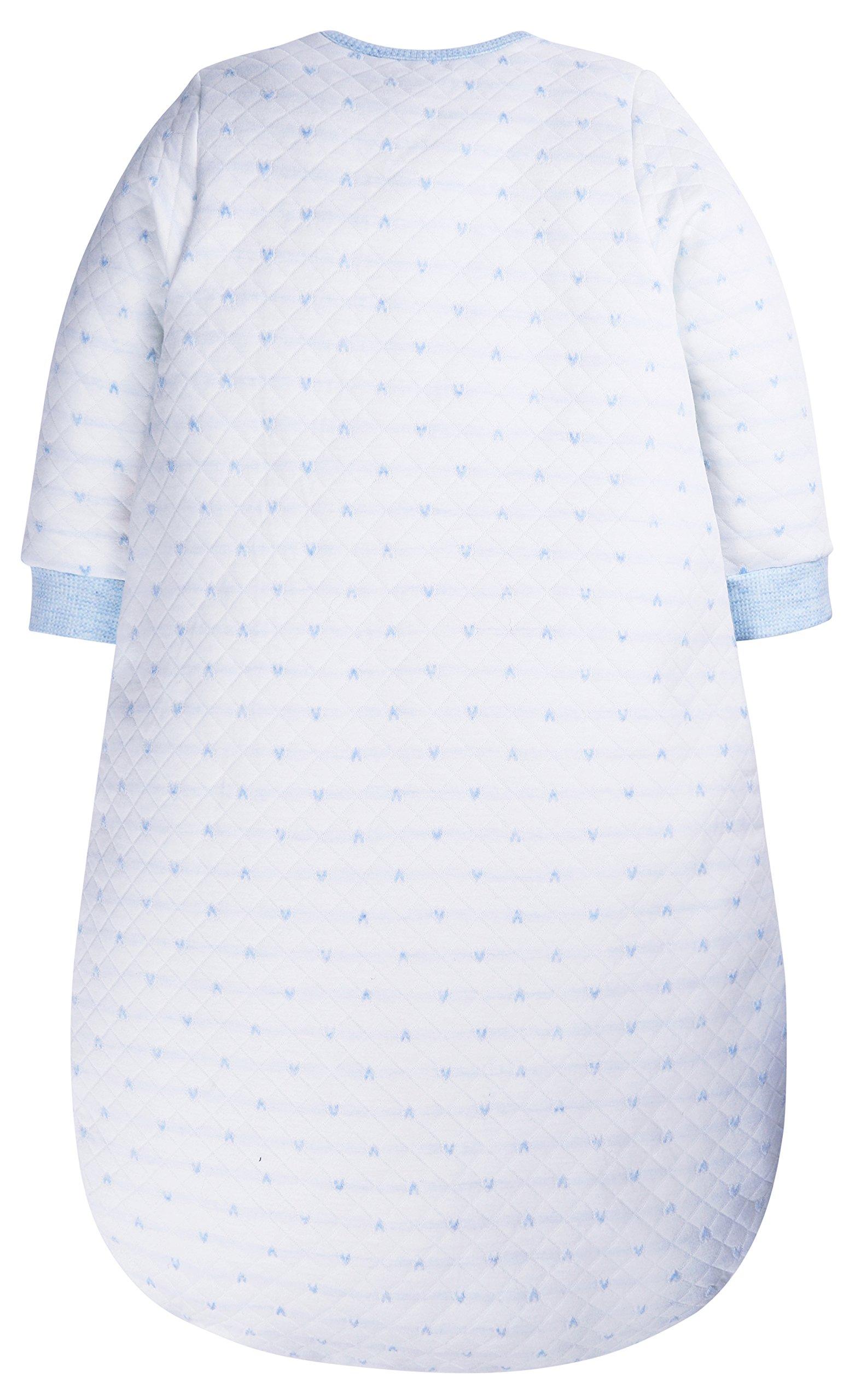 SHENGWEN Baby Sleep Sack Boys Girls Sleeping Bag Wearable Blanket Winter (BlueDots, 0-6m) by SHENGWEN (Image #3)