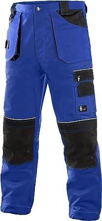 DINOZAVR Emerton Plus Pantalon de Travail Cargo pour Homme avec Poches Genouill/ères et Ceinture Elastique
