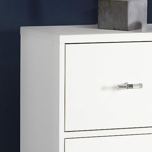 Best bedroom dresser: Pulaski Modern White Nine Drawer chest,