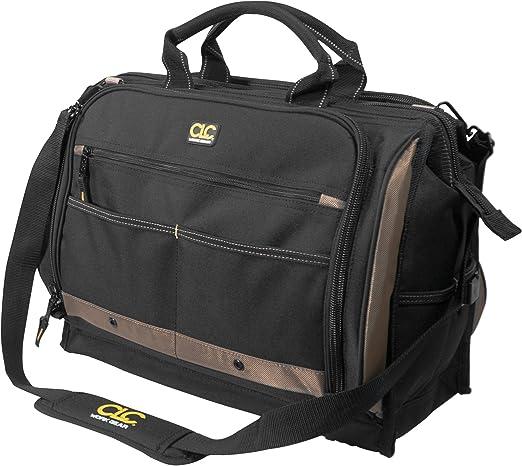 Amazon.com: Bolsa de herramientas multicompartimento con 50 ...