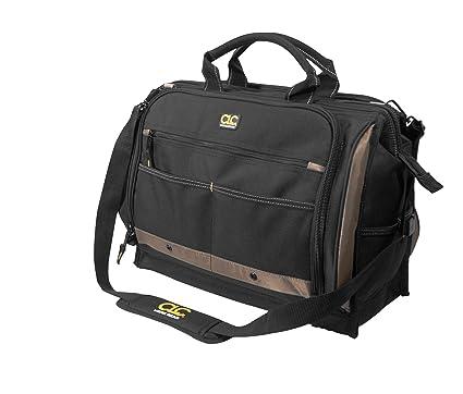 5e9b330f457e CLC Custom LeatherCraft 1539 Multi-Compartment 50 Pocket Tool Bag ...