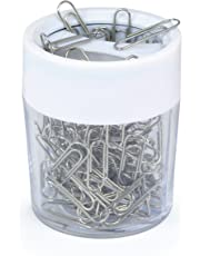 Rapesco PCH000A1 - Porta clips magnético para papeles (100 clips), colores surtidos